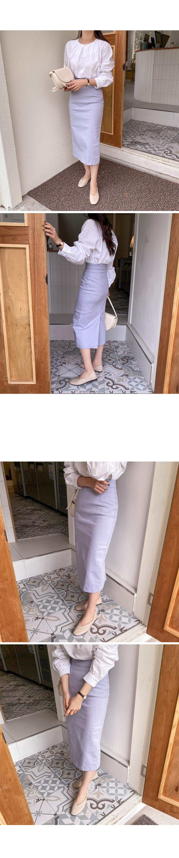 Lady cotton long skirt