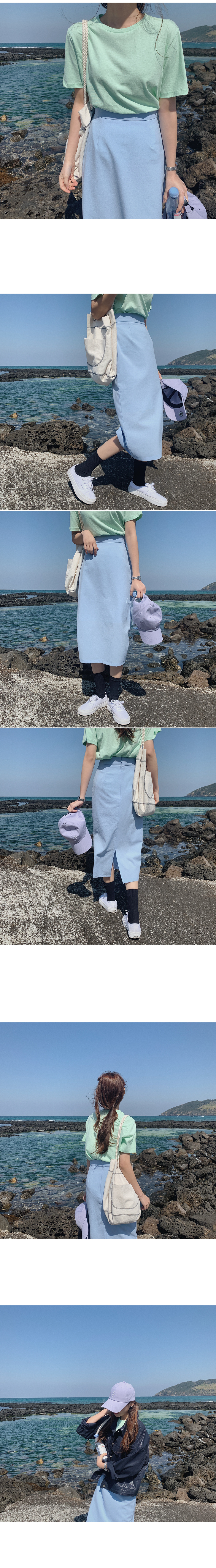 Mizen colored skirt