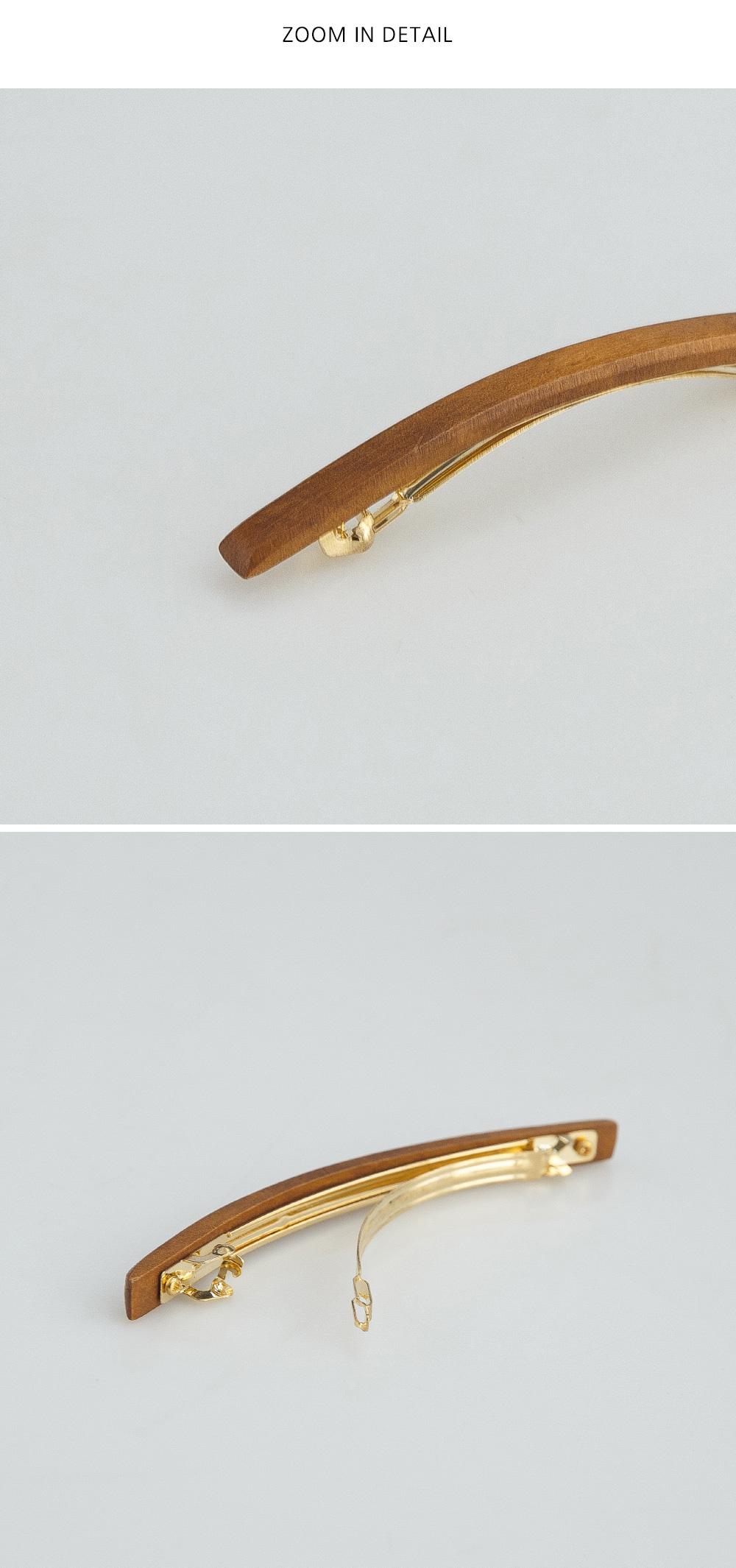 Pepero Wood Hairpin