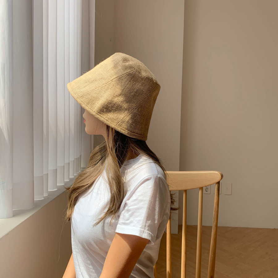 Unique Ma Bucket Hat Bung Cap 3color