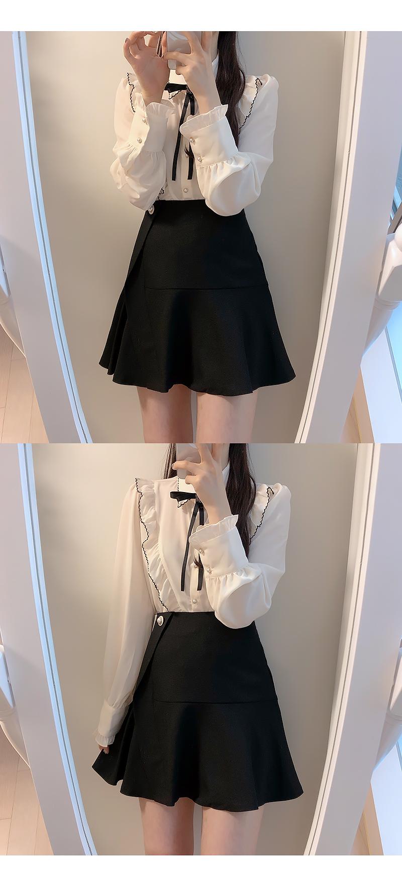Melo Pearl Full Skirt Pants