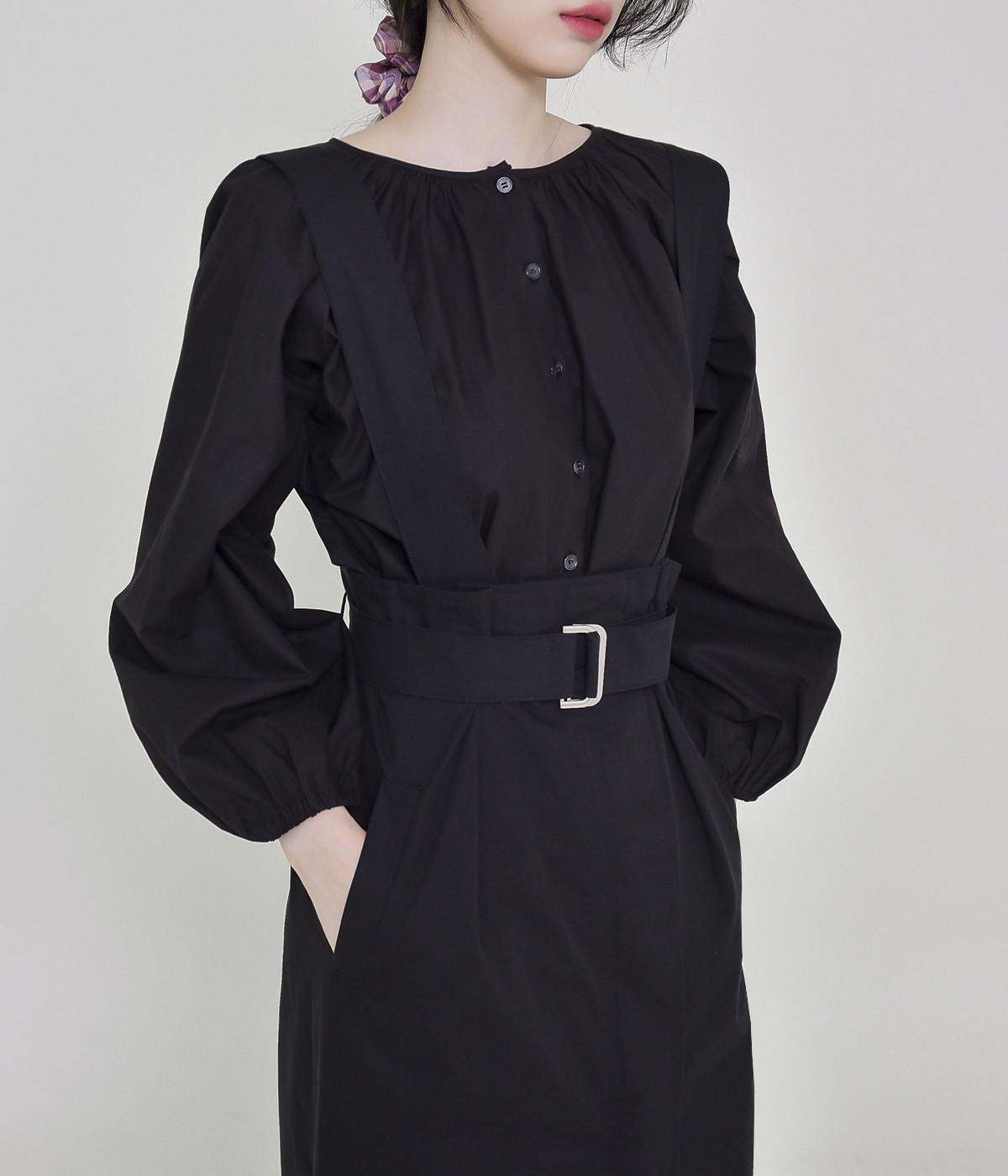Bonin shirred blouse
