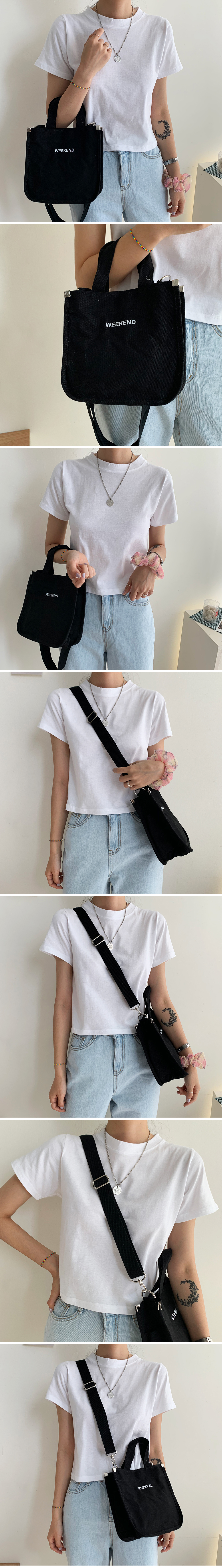 We cand canvas cross bag
