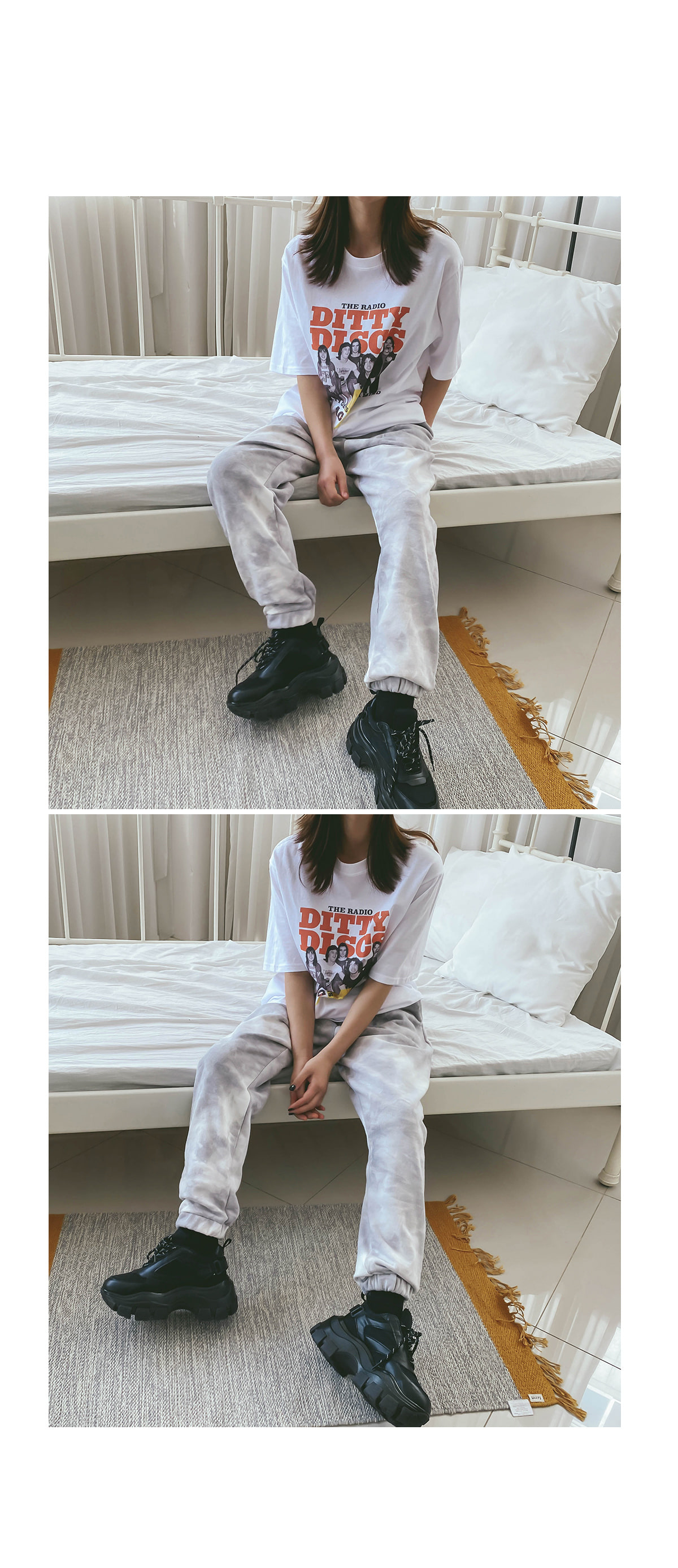 Loose Fit Irene Print T-shirt