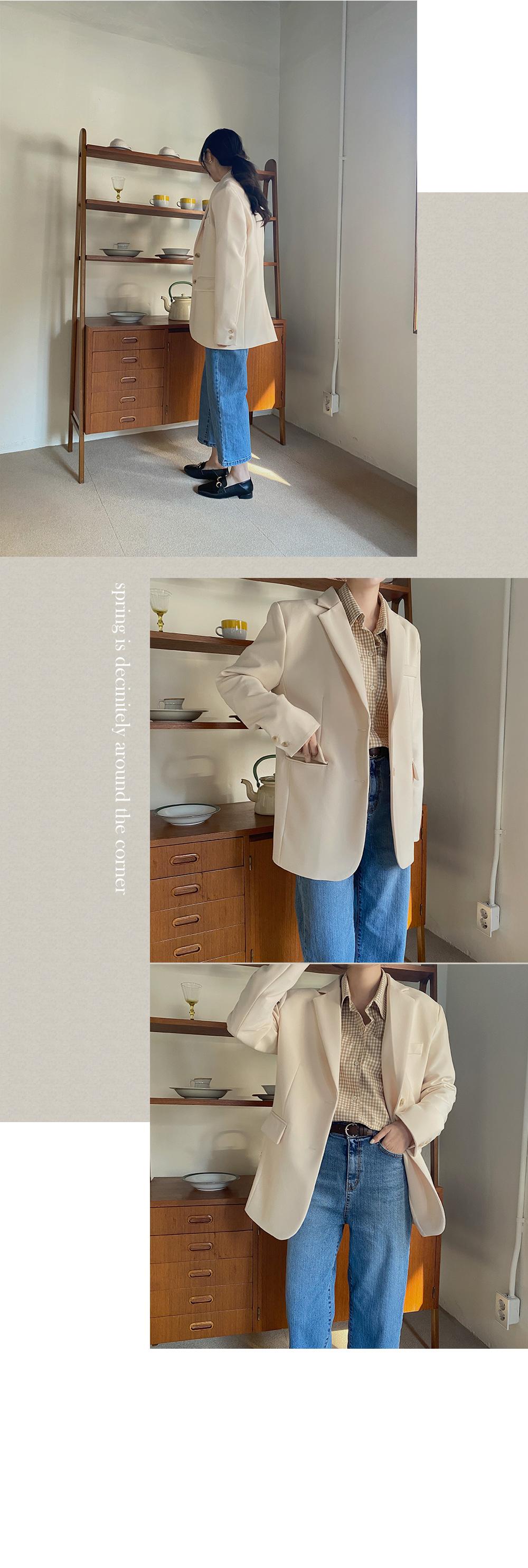 Lean belt jacket