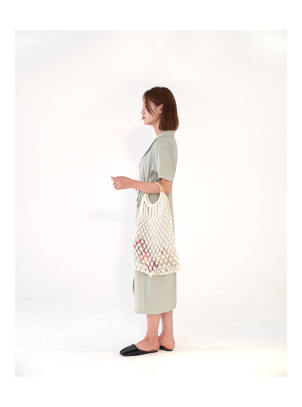 Woodring Summer Knit Bag