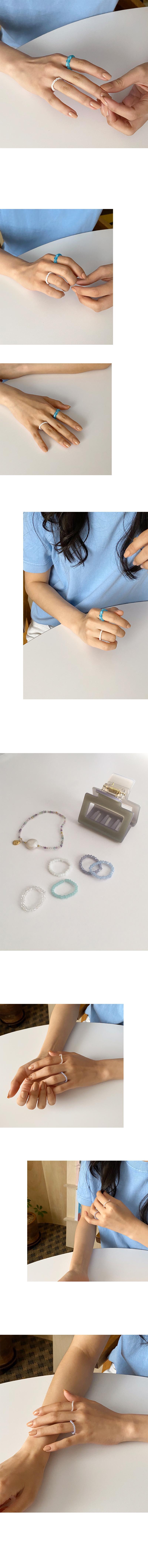 ice beads ring