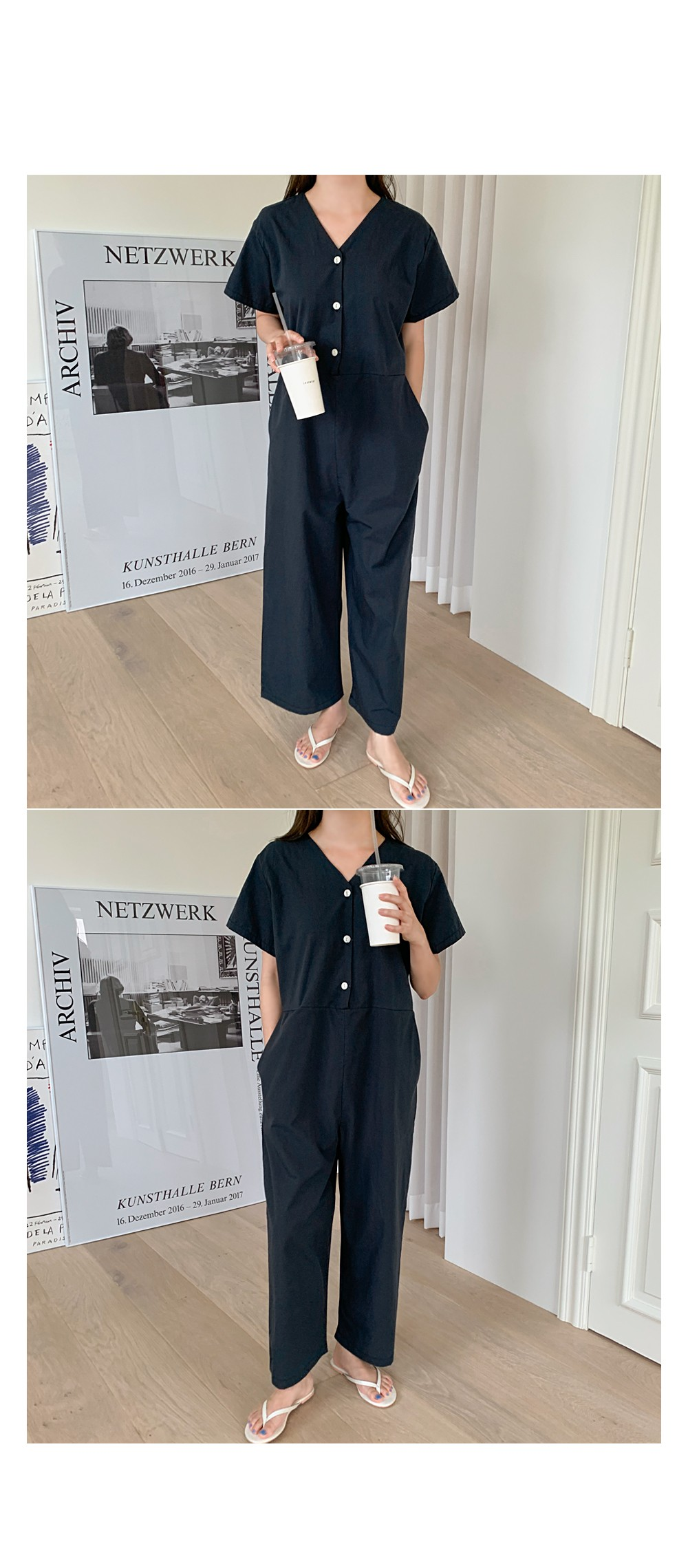 Modney Jumpsuit ♥ Wide Fit