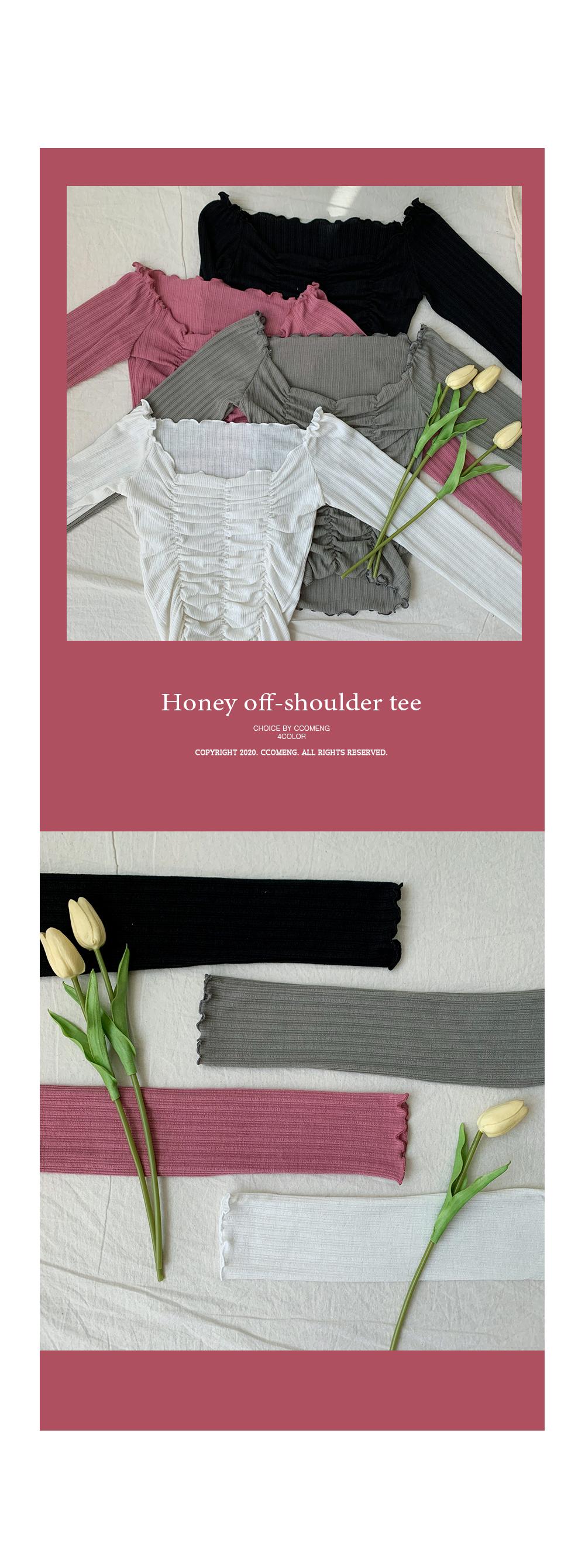 Honey off shoulder