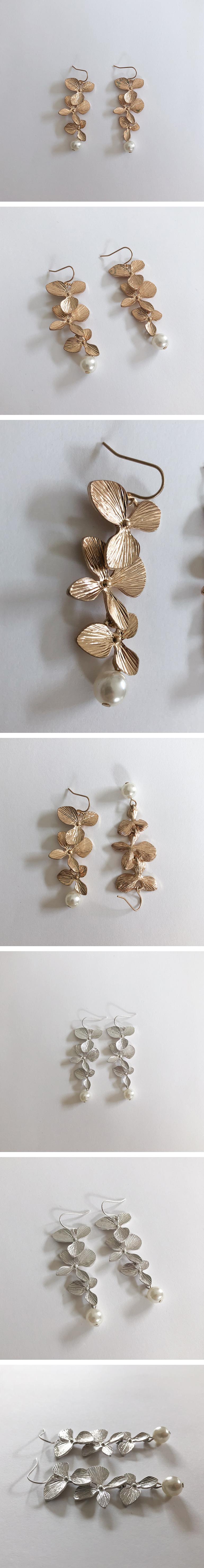 lavender earring
