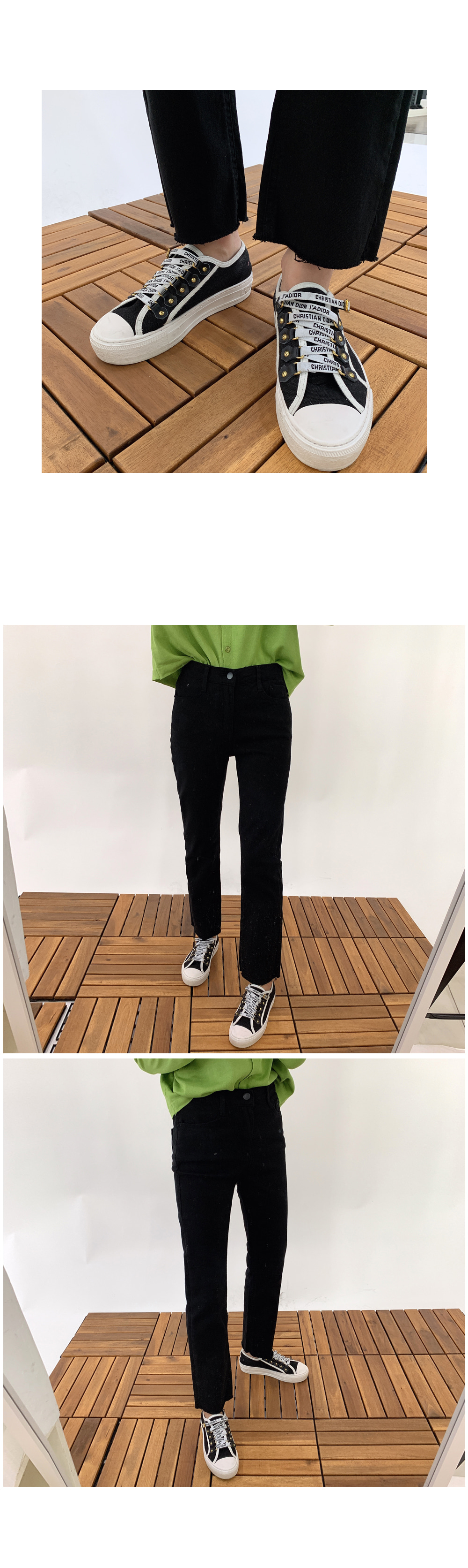Straight Fit Cotton Pants P#YW324
