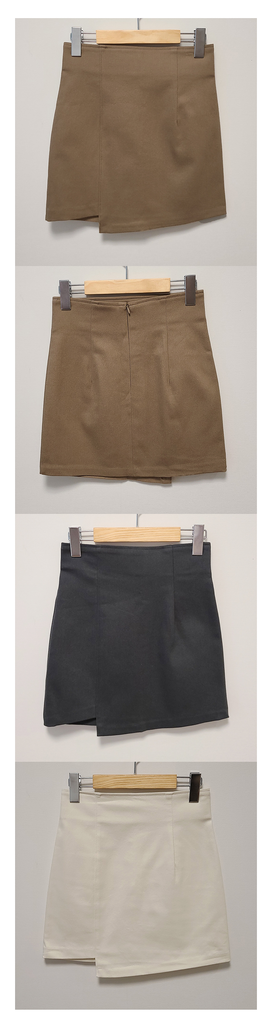 Autumn slim unfooted skirt