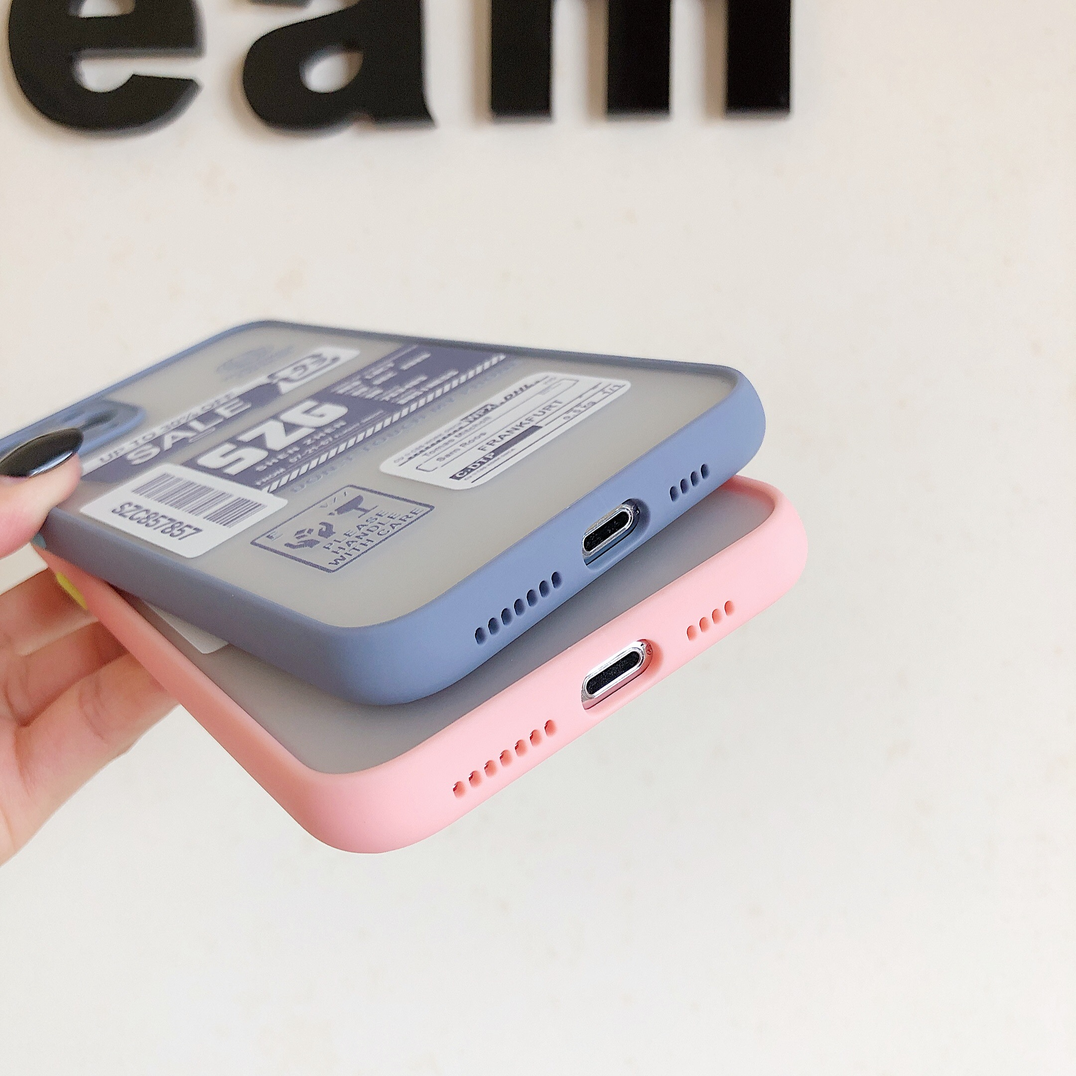 Patch printing case