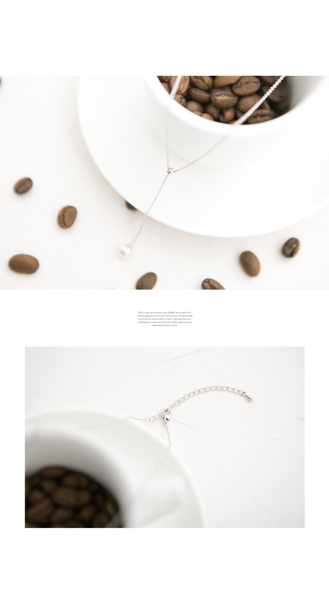 Lizard Pearl Necklace #84455