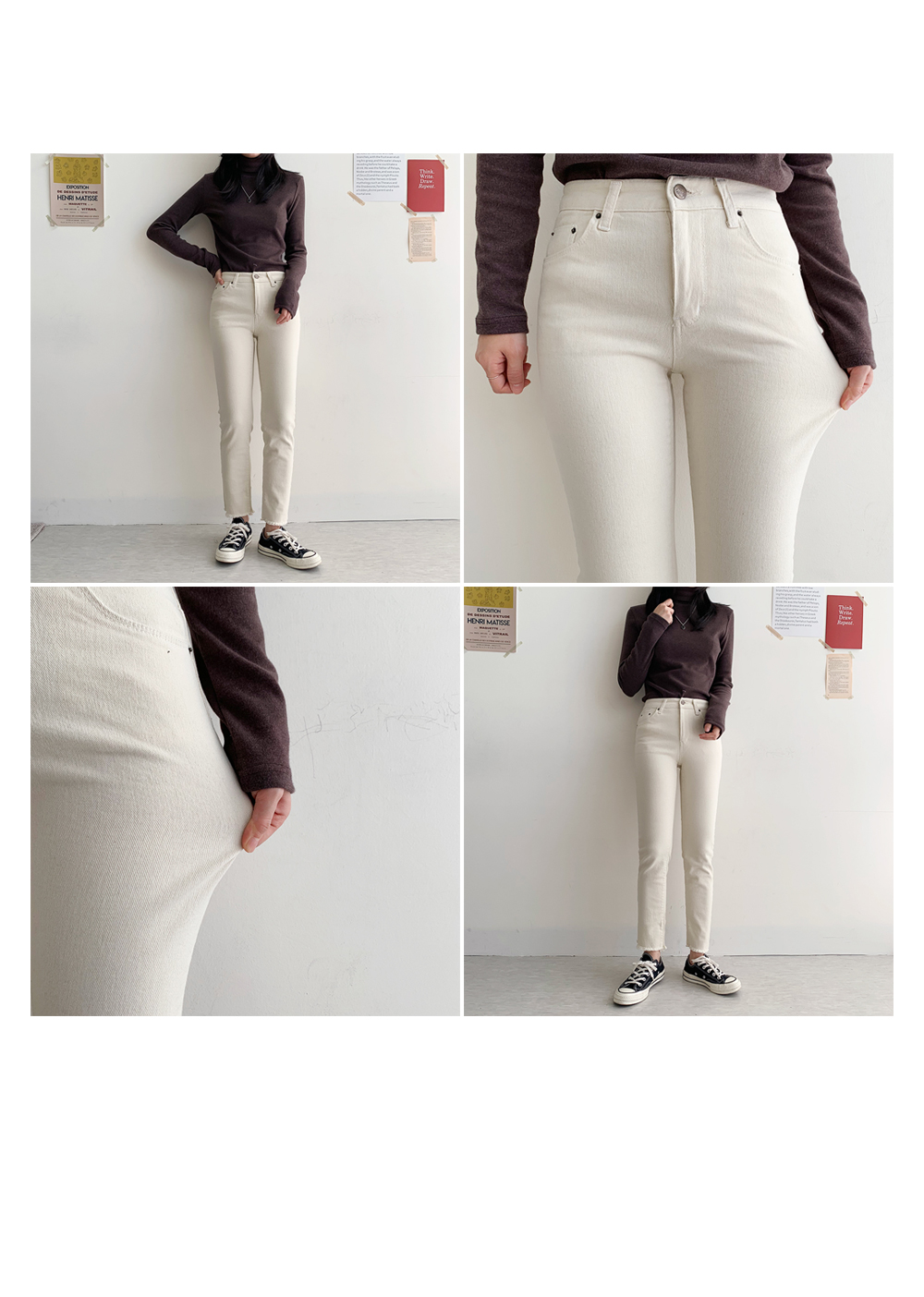 Ford Cotton Flat Pants