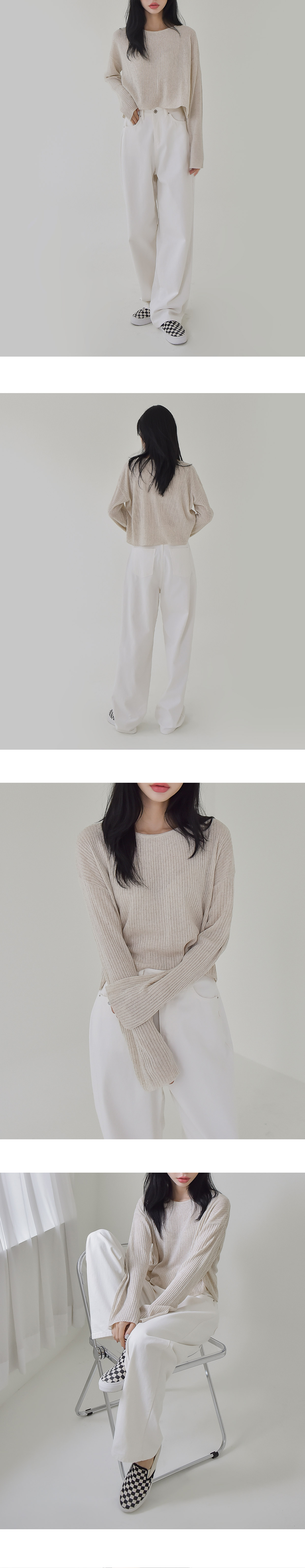 Awesome linen knit
