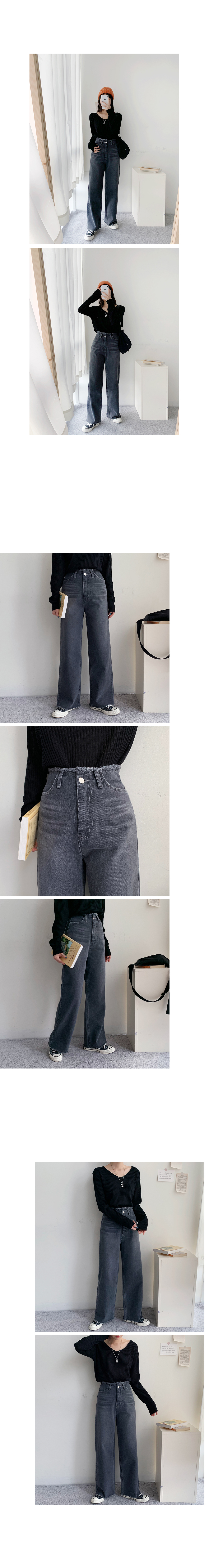 Lovely High Surgical Denim Pants
