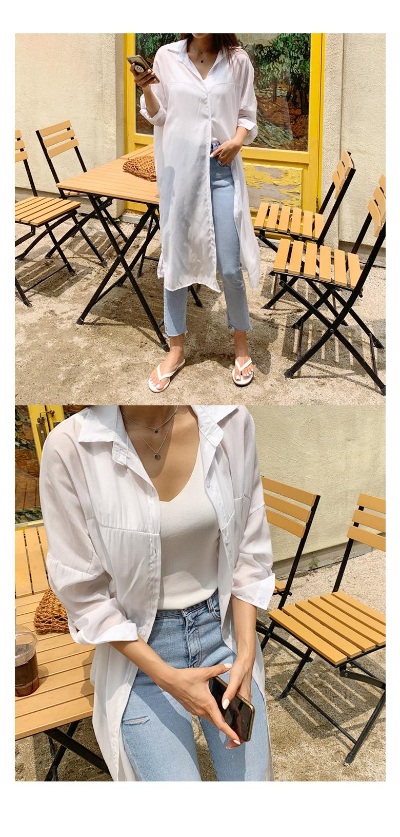Arne Summer Long Shirt