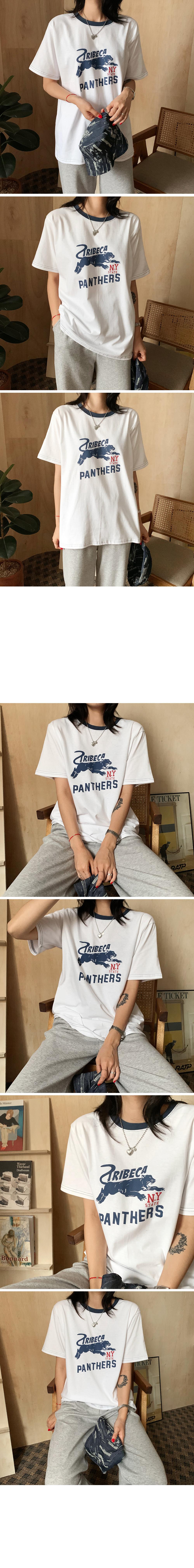 Panthers Printing Short Sleeve Tee