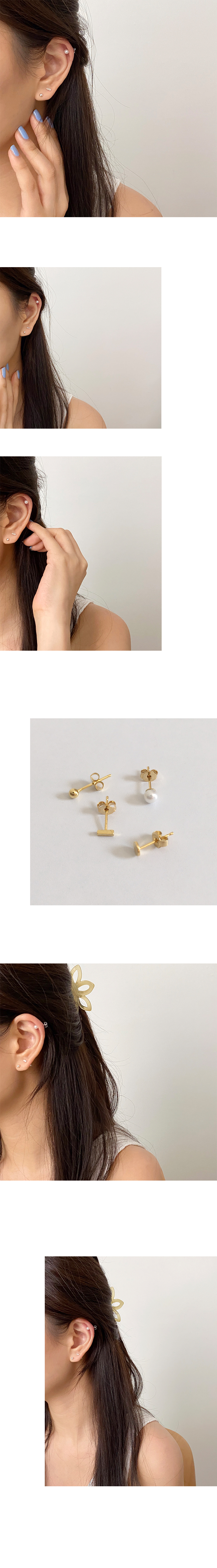 pound earring set