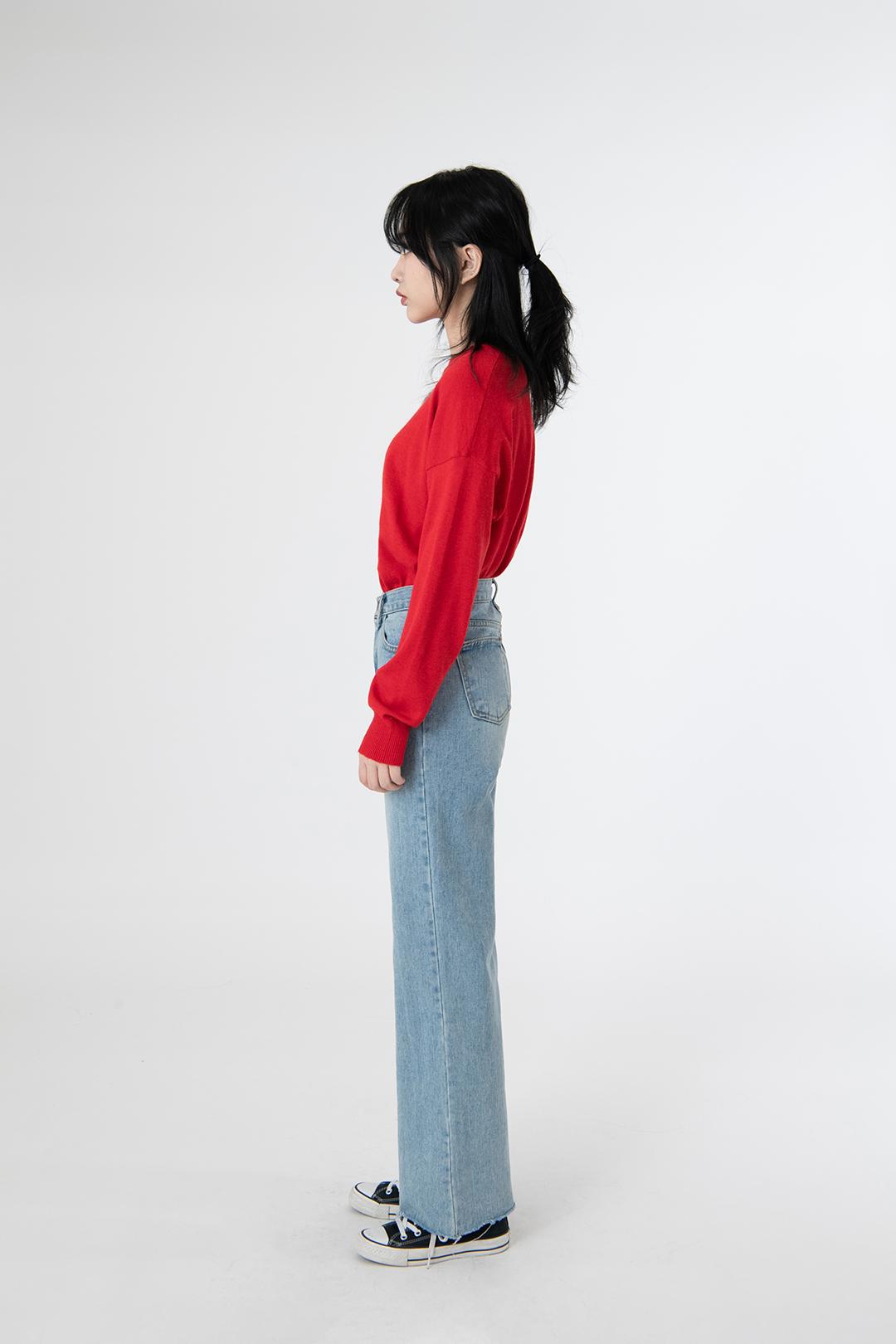 Basic Round Cash Knit