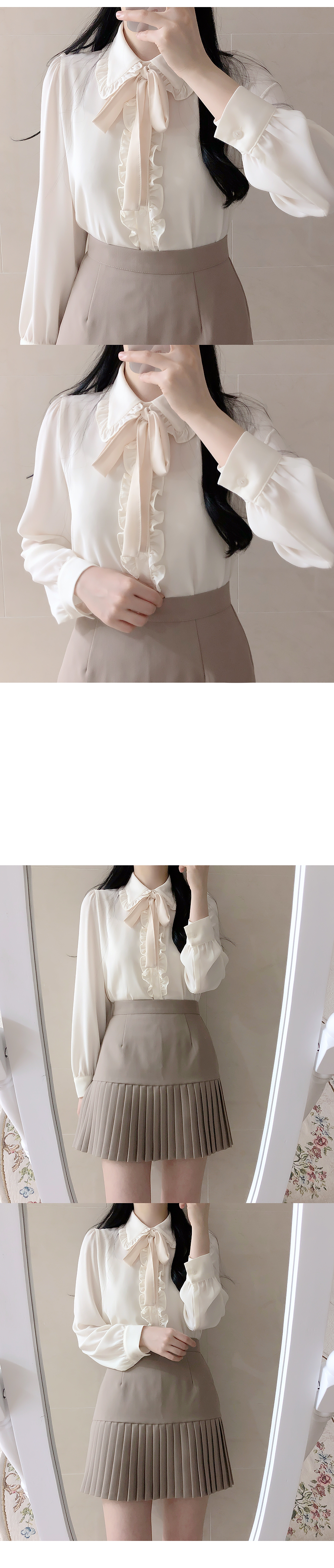 ♥ Shuanna frill tie blouse