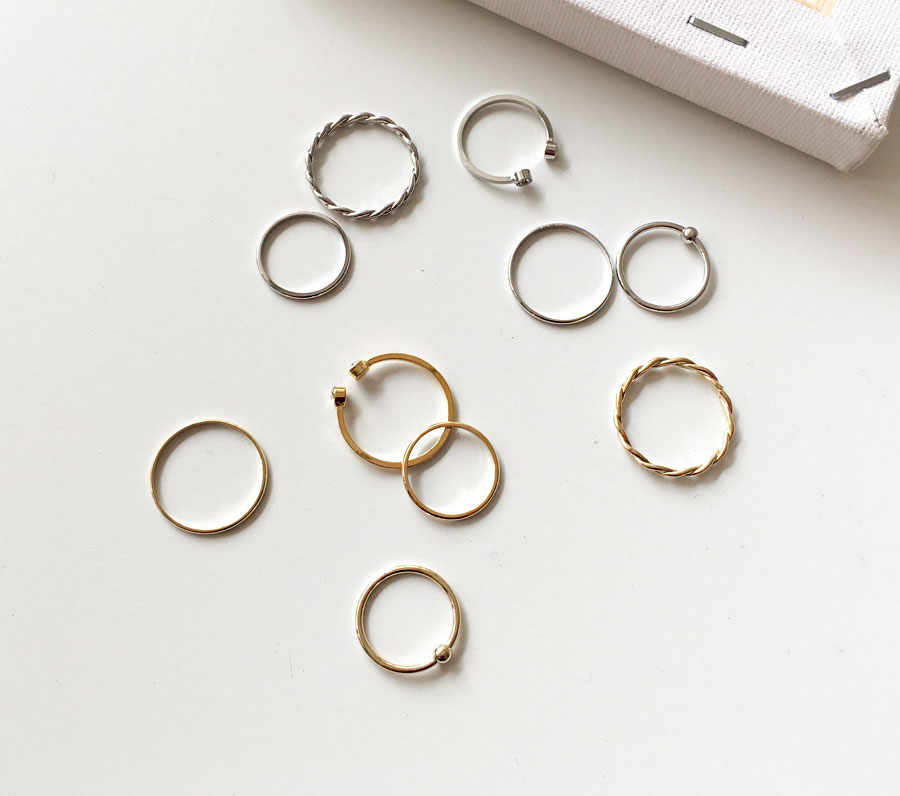 Live Cubic Simple 5 Layered Rings