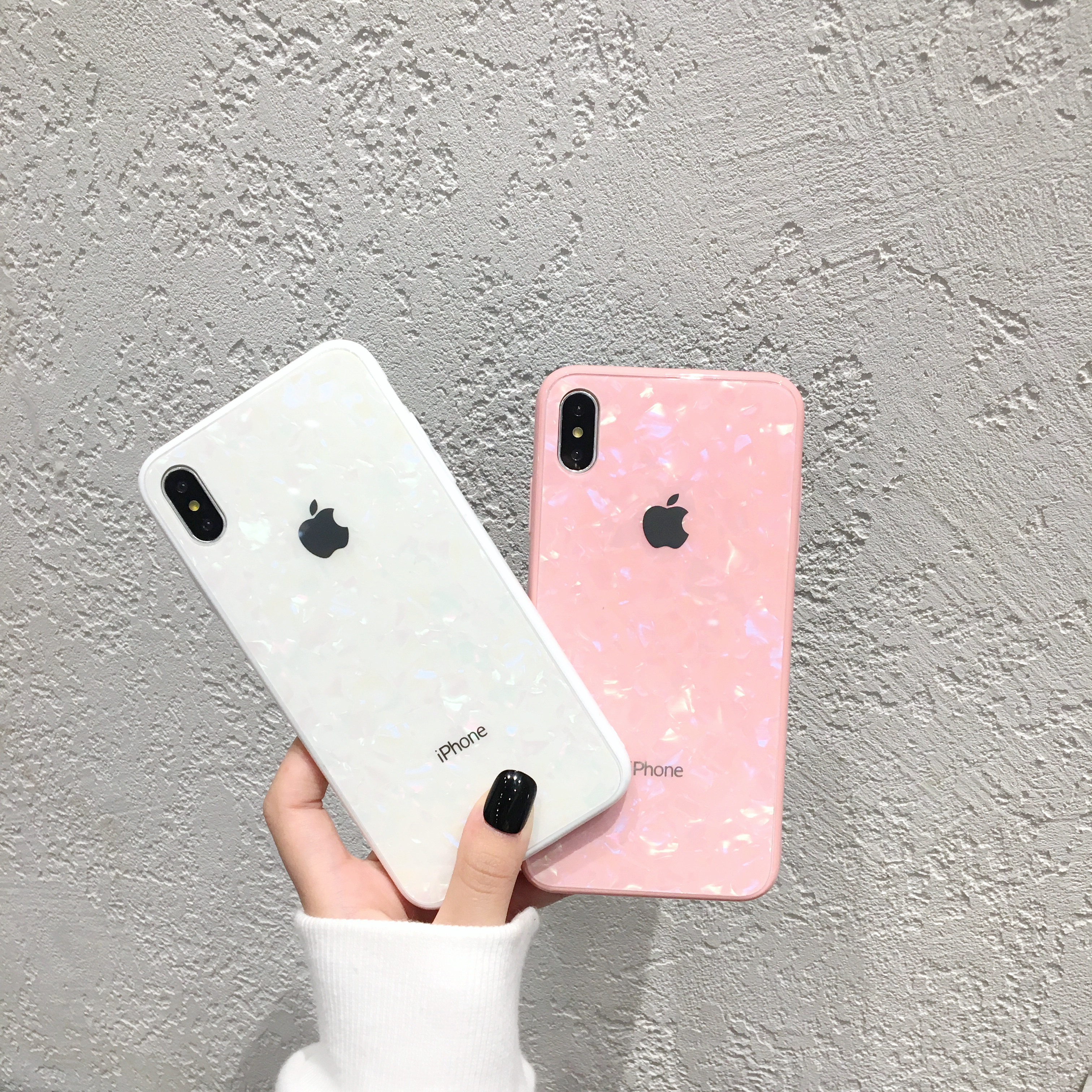 Tongkun Jungu iPhone All models iPhone 11 Pro Max iPhone XR iPhone XS MAX iPhone 6 iPhone 7 iPhone 8 Plus Marble Glass Case