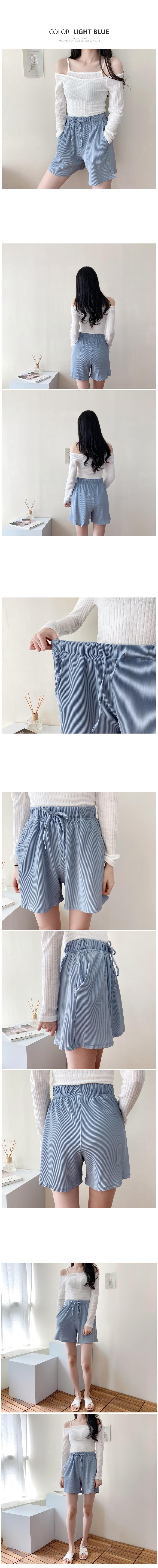 Pleated 3 piece shorts P#YW469