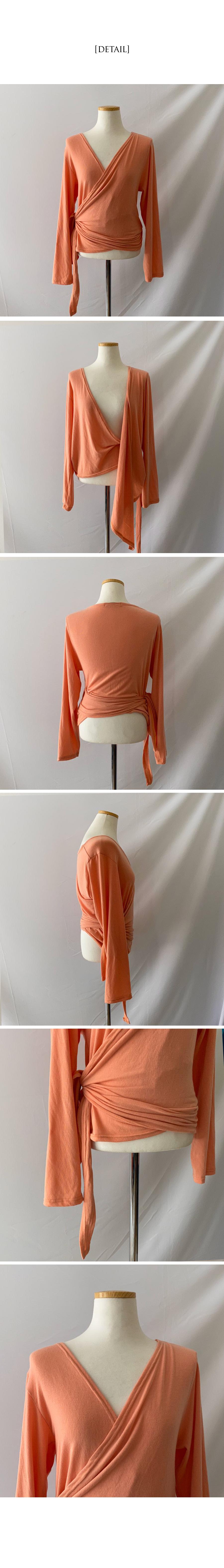 Connie wrap t-shirt