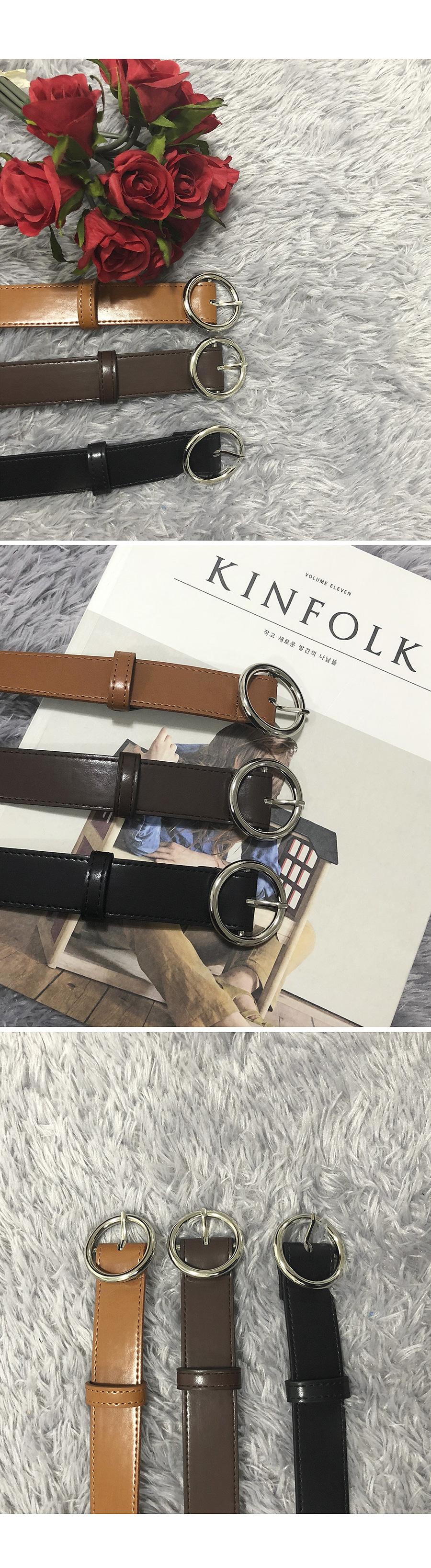 Silver One Belt