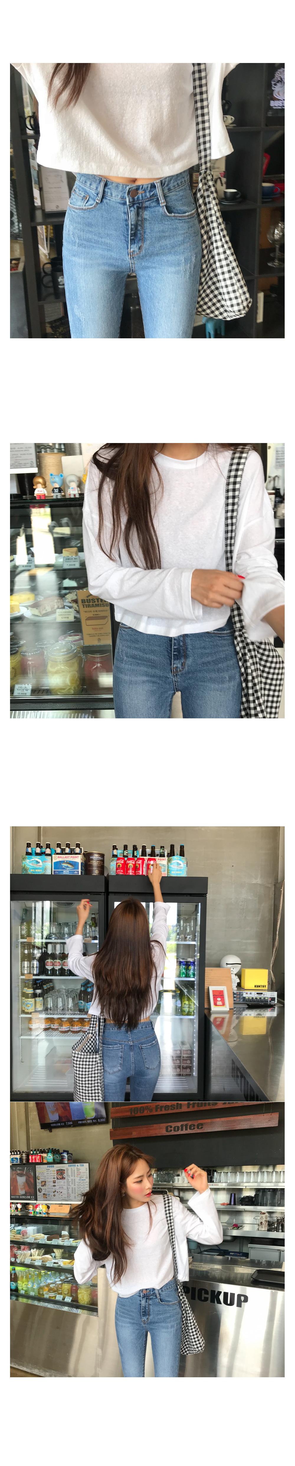 Cally Slim Date Denim Pants