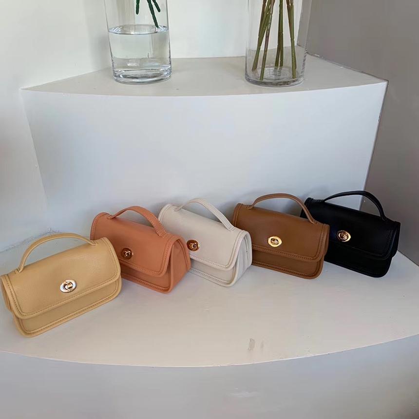 Urban Bros Anko Rectangle Leather Mini Bag 5colors