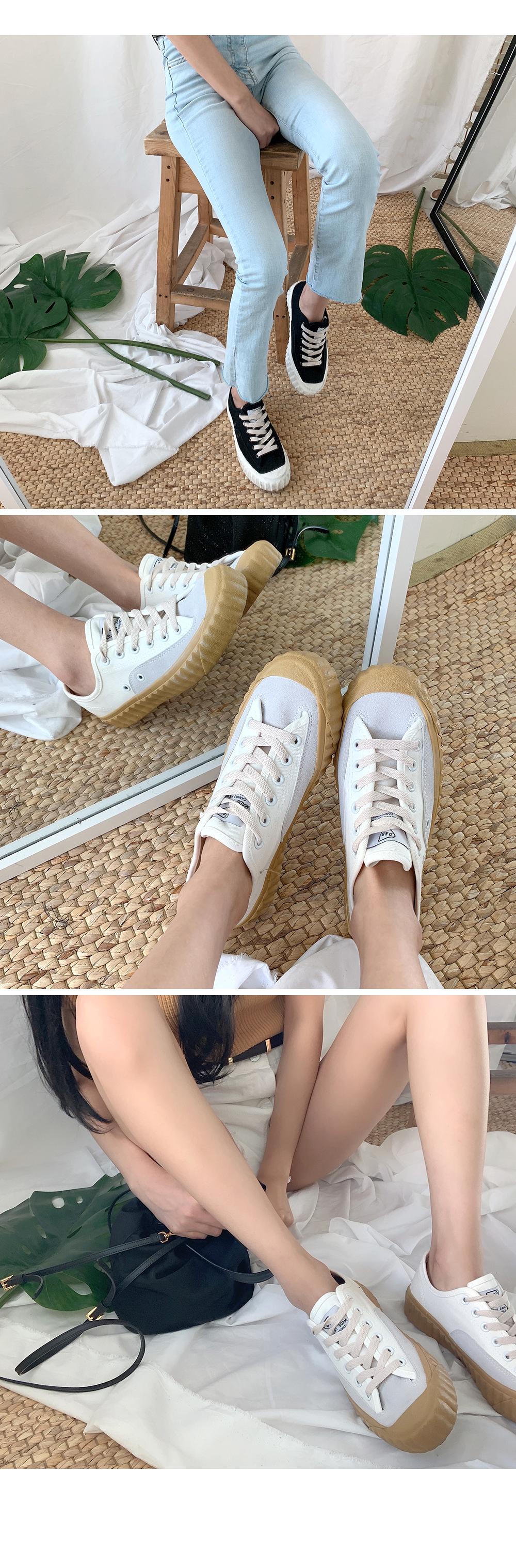 Canvas sneakers S#JI011
