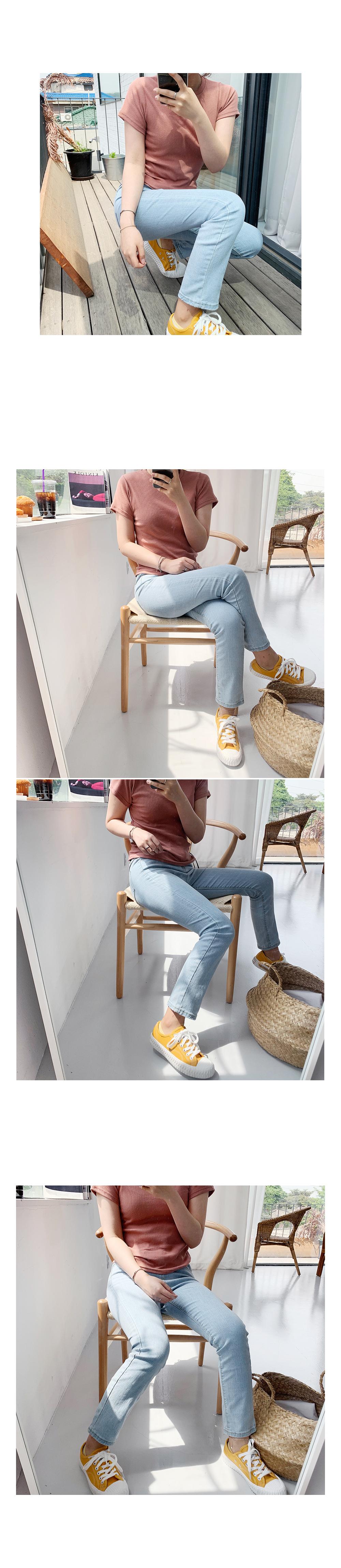 Summer Yancheng Denim Pants