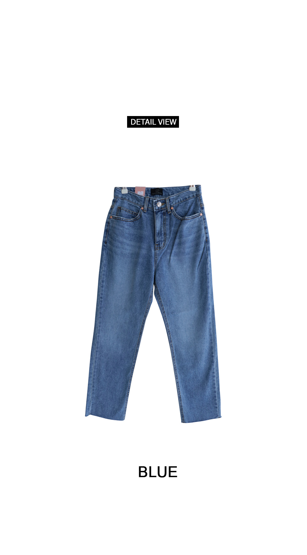 Van Hai cut date denim pants