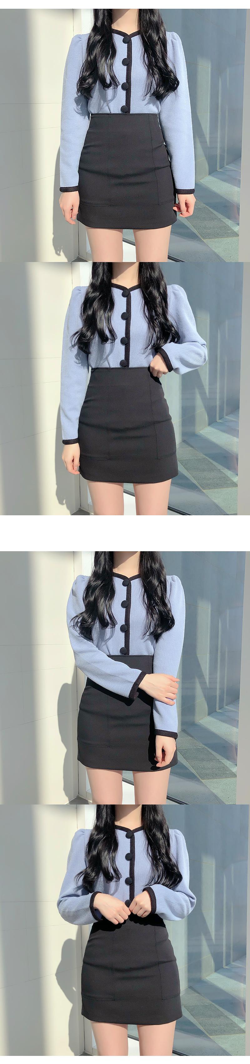 Jens incision miniskirt