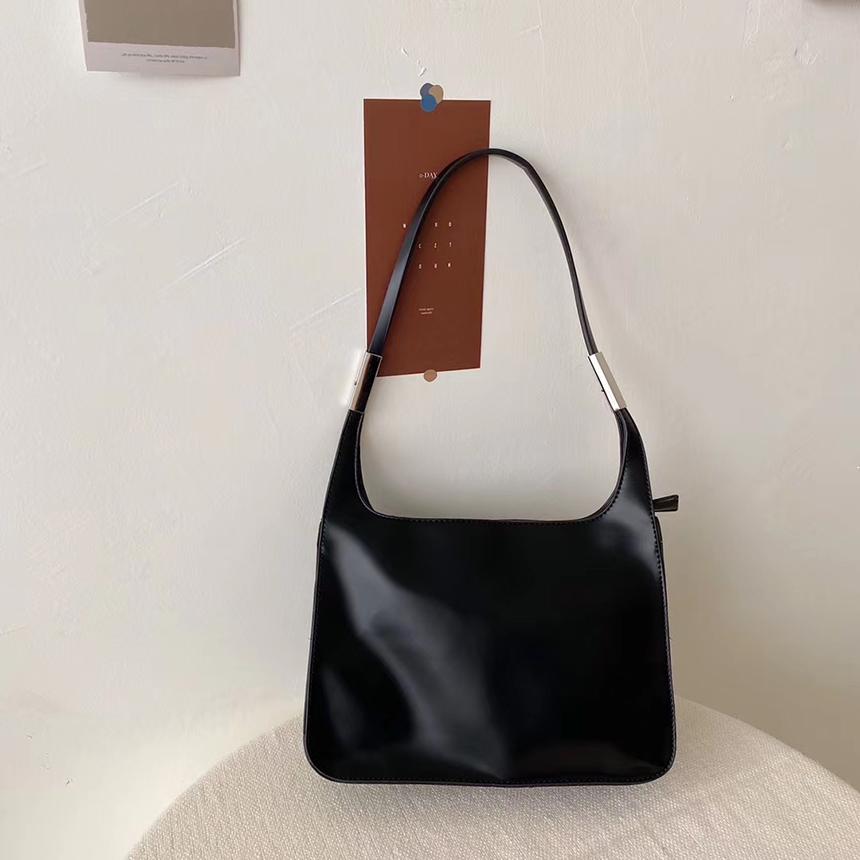 Urban Bros Evan Silver Strap Shoulder Bag 4colors