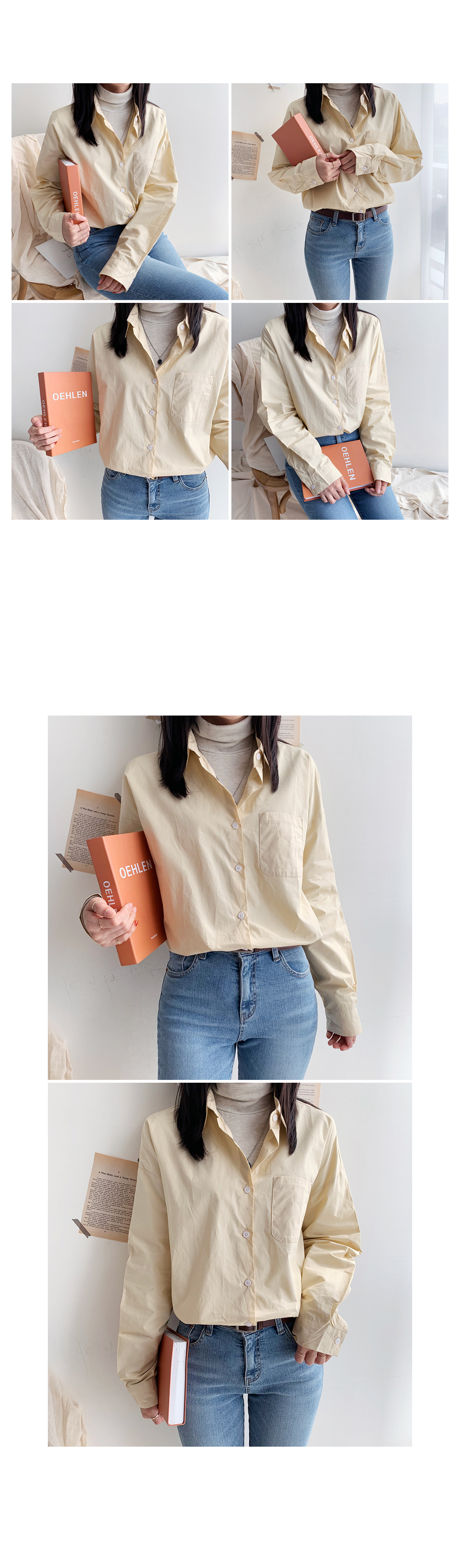 Color Basic Shirt shirt
