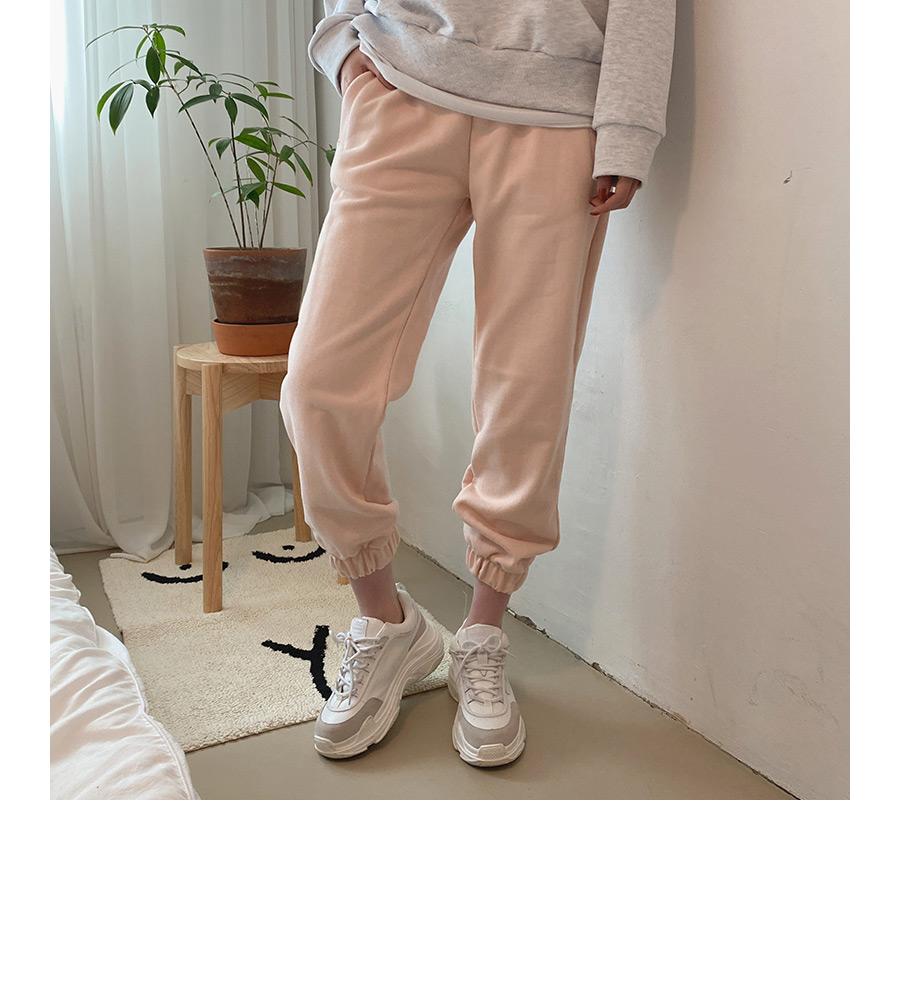 Easy banding jogger training pants