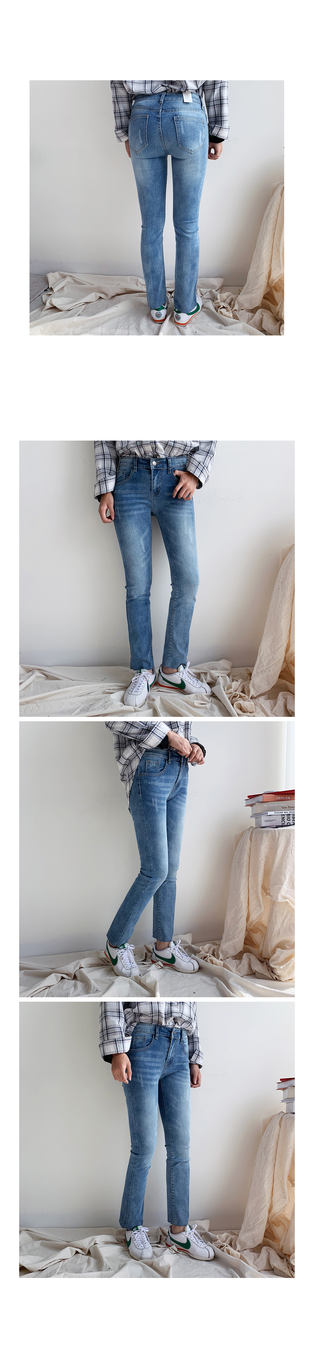 Muffin Blue denim pants