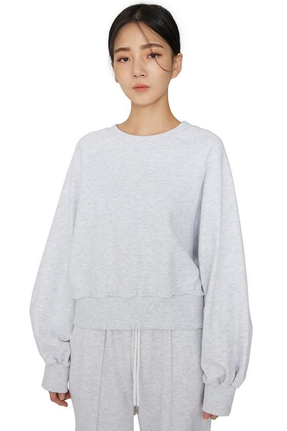 Oz soft cotton crew neck sweatshirt 長袖上衣