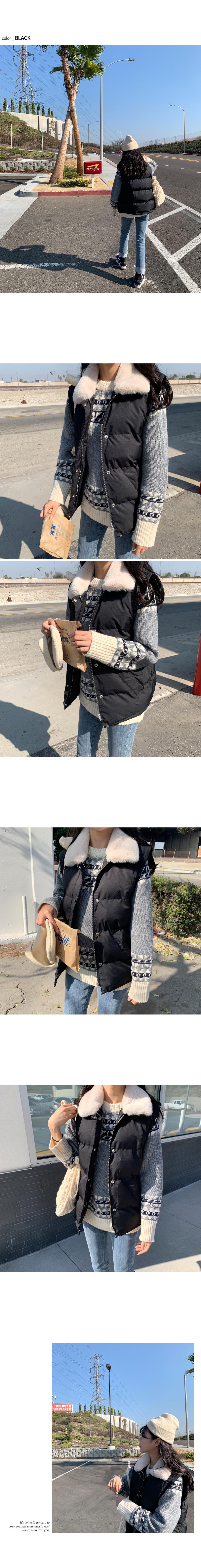 Carafer vest padding O#YW127