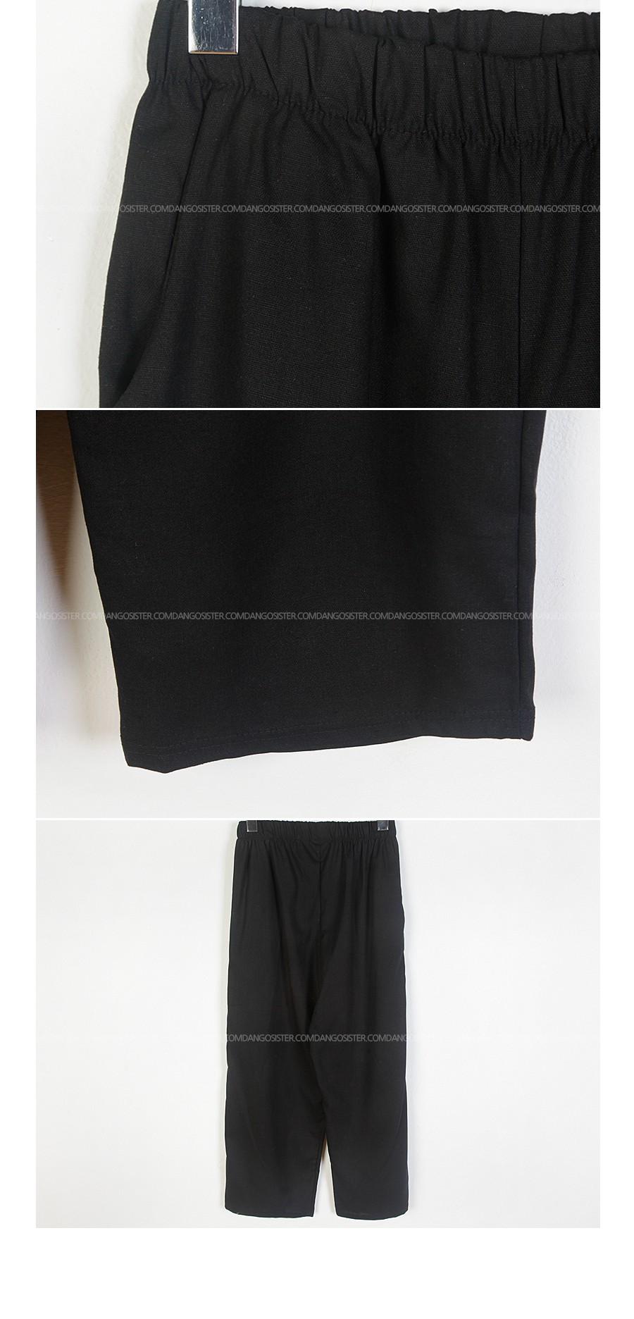 Big Gel Linen SET ♥ Linen Nash + Linen Banding Pants Set:)