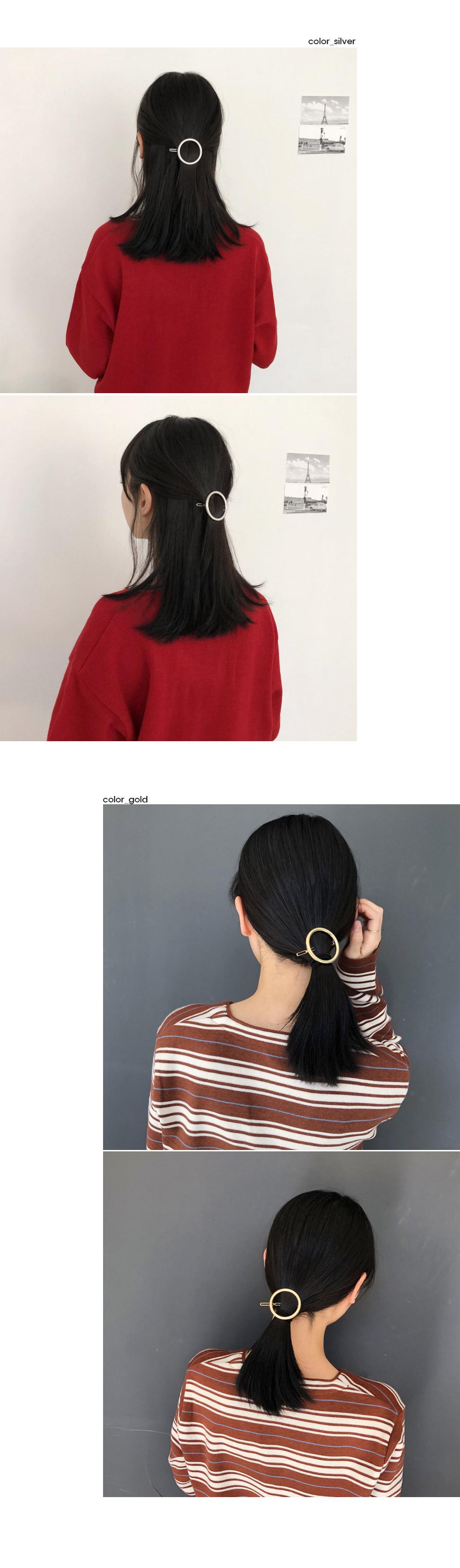Round hairpin