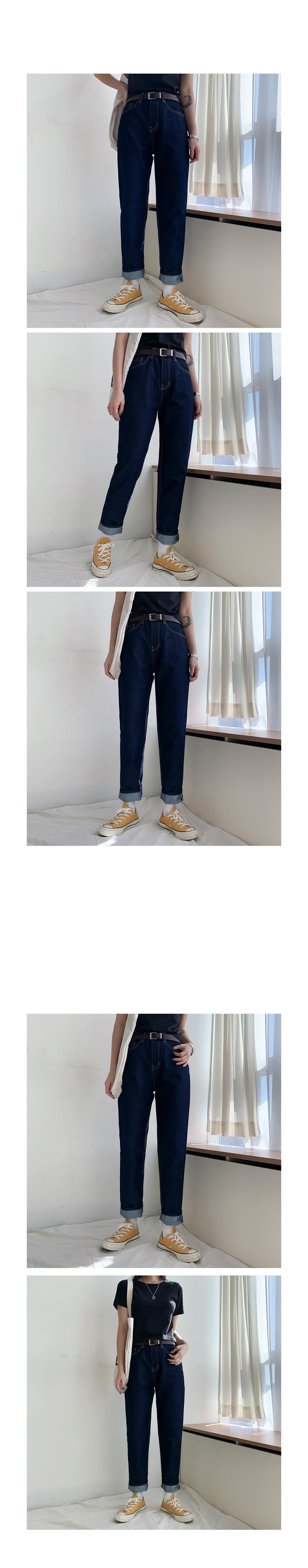 Little Raw Denim Pants
