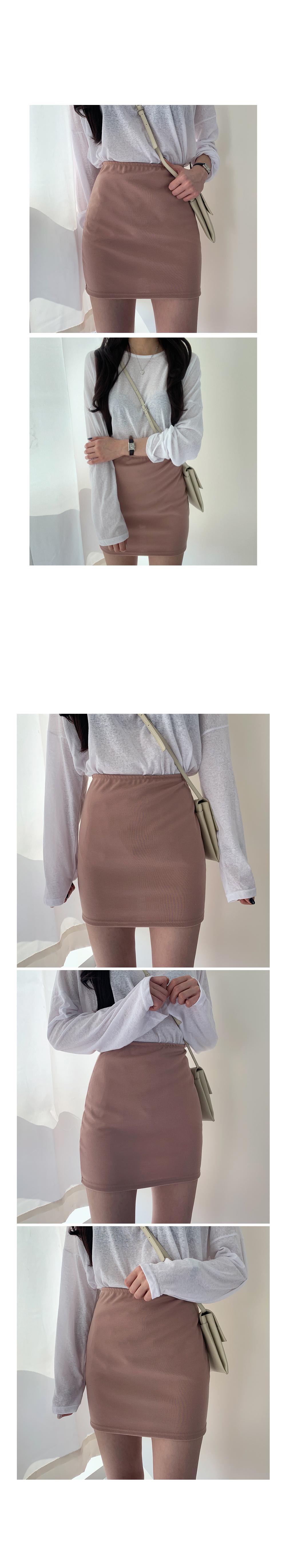쫀쫀bunto mini skirt
