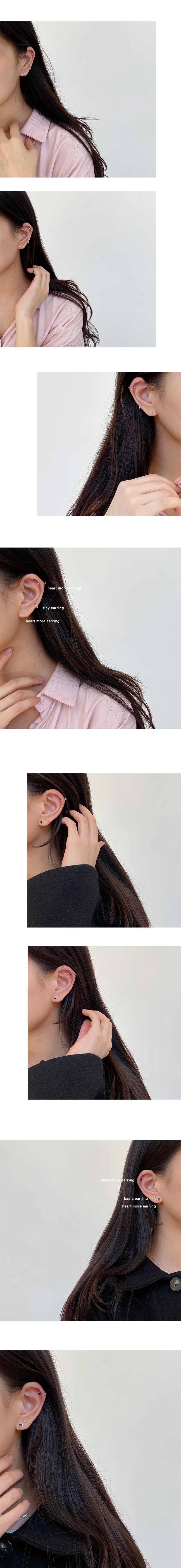 heart more earring