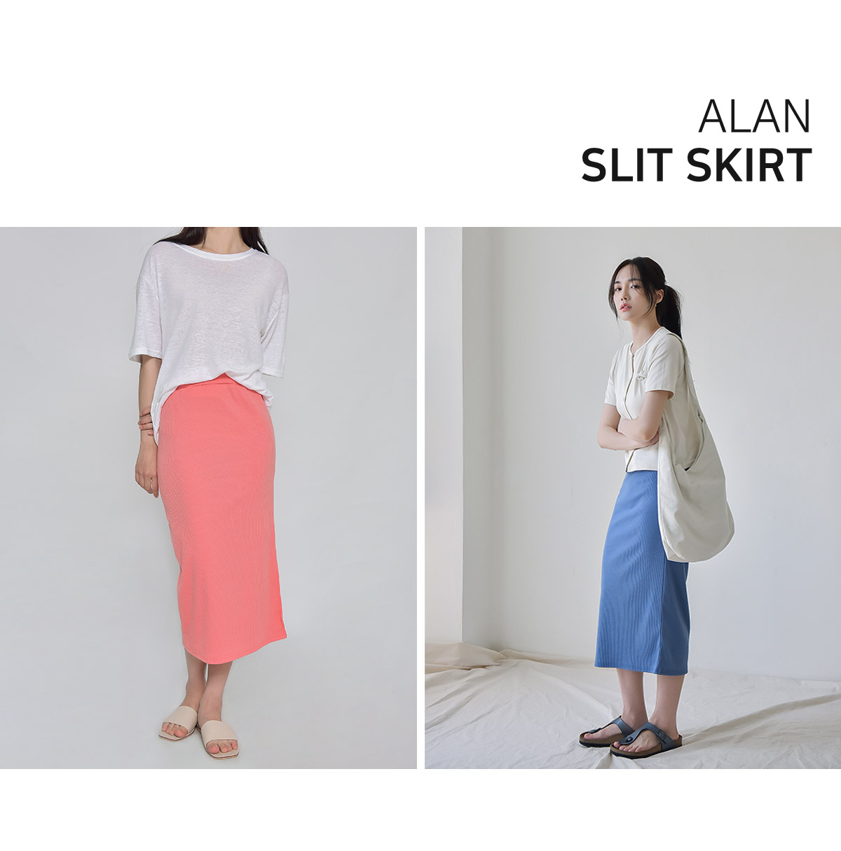 Alan Slit Skirt