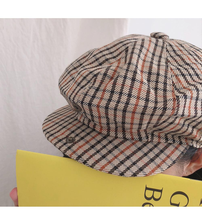 Hound Check Bread Hat